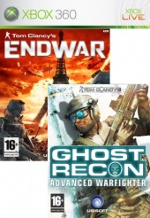 2в1 Ghost Recon 2 + EndWar (Xbox 360)