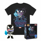 Набор Фигурка + Футболка Funko POP and Tee – Venom Thanos (размер L) (45463)