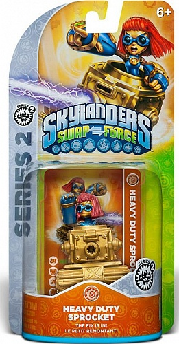 Skylanders Swap Force. Heavy Duty Sprocket