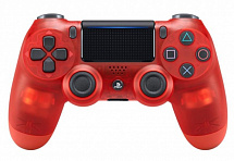 PS 4 Геймпад Sony DualShock Crystal Red v2
