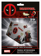 Наклейки Deadpool (Merc With A Mouth) – Tech Sticker Pack (TS7408)