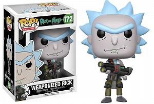 Фигурка Funko POP! Vinyl: Rick & Morty: Weaponized Rick фото