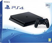 Игровая консоль Sony PlayStation 4 Slim 500Gb (GameReplay)