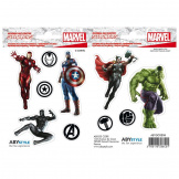 Наклейки ABYstyle Marvel Avengers X5 Stickers – 16x11cm / 2 sheets (ABYDCO417)