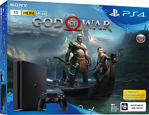 Sony PlayStation 4 1TB Slim (CUH-2108B) + игра God of War