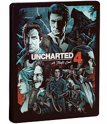 Uncharted 4: Путь вора Steelbook Edition (PS4)