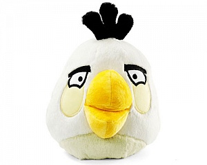 Мягкая игрушка Angry Birds Белая