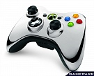 Скриншот Controller Wireless R Chrome Series Silver, 3