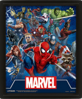 Постер 3D Marvel – Cinematic Icons (EPPL71313)