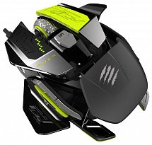 Mad Catz R.A.T. PRO X Ultimate Gaming Mouse for PC Black USB