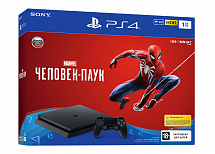 Sony PlayStation 4 1TB Slim (CUH-2108B) + игра Marvel Человек-Паук (Spider-man)