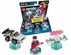 Скриншот LEGO Dimensions Level Pack - Back to the Future (DeLorean Time Machine, Marty McFly, Hoverboard), 1
