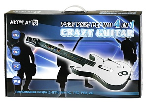 Гитара беспроводная сенсорная для PS3, PS2, Wii, PS-3008