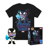 Набор Фигурка + Футболка Funko POP and Tee – Venom Thanos (размер S) (45460)
