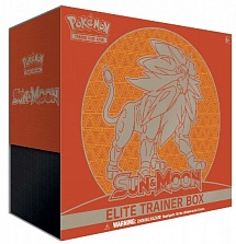 Элитный Набор SM1 Solgaleo / SM01 SUN & MOON ELITE TRAINER BOX EN
