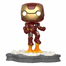 Фигурка Funko POP Deluxe Marvel: Avengers – Iron Man (Assemble) (Exc)