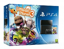 PlayStation 4 500Gb + LittleBigPlanet 3