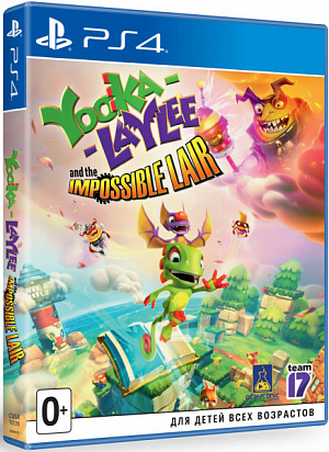 Yooka-Laylee and the Impossible Lair Стандартное издание (PS4) фото
