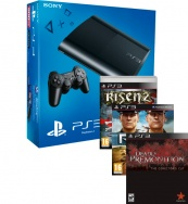 "PlayStation 3 500 GB ""Game replay"" + 3 игры: Risen 2. Dark Waters + Deadly Premonition + R.U.S.E"