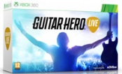Guitar Hero Live Bundle Гитара + игра (Xbox360)