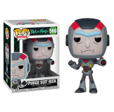 Фигурка Funko POP Rick & Morty – Purge Suit Rick