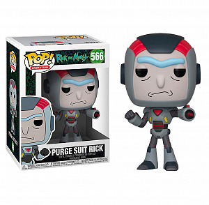 Фигурка Funko POP Rick & Morty – Purge Suit Rick фото