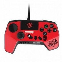 Аркадный пад Mad Catz Street Fighter V FightPad Pro - Ken красный