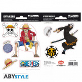 Наклейки ABYstyle One Piece – Luffy & Law (ABYDCO445)