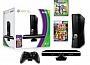 Microsoft Xbox 360 (4 Gb) + Kinect + Kinect Adventures. + Kinect Sports: Season 2