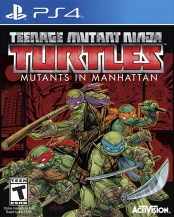 Teenage Mutant Ninja Turtles Mutants in Manhattan (PS4) (GameReplay)