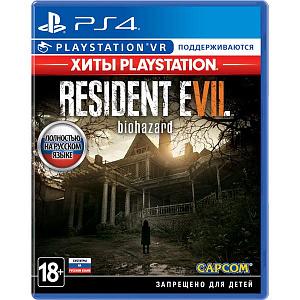 Resident Evil 7: Biohazard (поддержка VR) (Хиты PlayStation) (PS4) фото