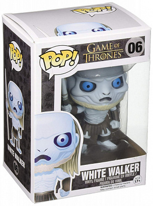Фигурка Funko POP! Vinyl: Game of Thrones: White Walker 3017 фото