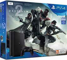 Sony PlayStation 4 1TB Slim  (CUH-2008B) + Destiny 2