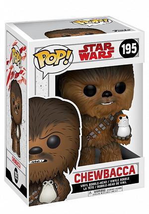 Фигурка Funko POP! Bobble: Star Wars: The Last Jedi: Chewbacca w/ Porg 14748