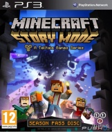 Minecraft: story mode (PS3)