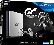 Sony PlayStation 4 1TB Slim  Gran Turismo Sport Limited Edition