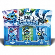 Набор фигурок Skylanders: Wreking Ball, Stealth Elf, Sonic Boom