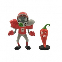 Фигурка Plants vs. Zombies: Football Zombie & Jalapeno