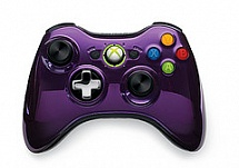 Controller Wireless R Chrome Series Purple