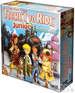 Настольная игра: Ticket to Ride Junior: Европа фото