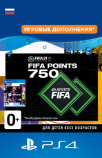 FIFA 21 Ultimate Team – 750 FUT Points (PS4-цифровая версия)