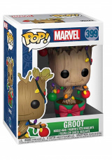 Фигурка Funko Marvel Holiday – Groot w/ Lights & Ornaments (33982)