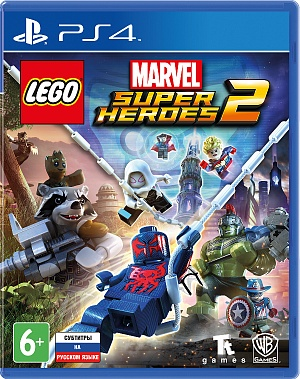 LEGO Marvel Super Heroes 2 (PS4) фото