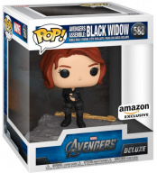 Фигурка Funko POP Deluxe Marvel Avengers – Black Widow (Assemble) (Exc) (45075)