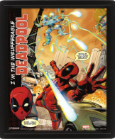 Постер 3D Deadpool – Attack (EPPL71181)