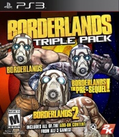 Borderlands Triple Pack (PS3)