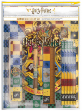 Канцелярский набор Harry Potter (House Crests) – Bumper Stationery Set (SR72582)