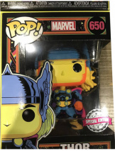 Фигурка Funko POP Marvel: Black Light – Thor (Exc) (48847)