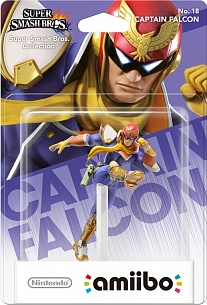 Amiibo: Super Smash Bros Collection Capitan Falcon