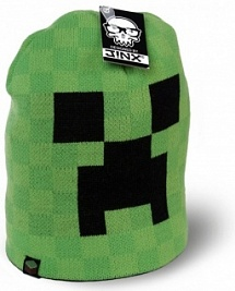 Шапка Minecraft Creeper Face